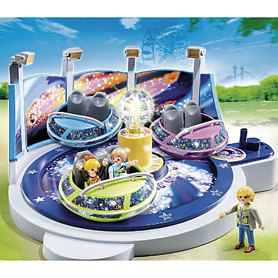 Click here for Playmobil Summer Fun Spinning Spaceship Ride with Lights