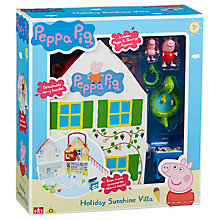 Buy Peppa Pig Holiday Sunshine Villa Online at johnlewis.com