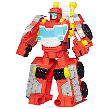 Buy Playskool Heroes Transformers Rescue Bots Elite Rescue Heatwave Figure Online at johnlewis.com