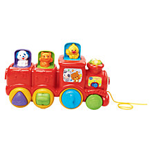 Buy VTech Toot-Toot Drivers, Pop Up Friends Train Set Online at johnlewis.com