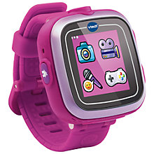 Buy VTech Kidizoon Smart Watch Plus, Pink Online at johnlewis.com
