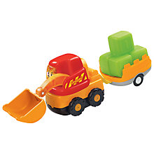 Buy VTech Toot-Toot Drivers, Digger & Trailer Set Online at johnlewis.com