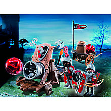Buy Playmobil Knights Hawk Knights` Battle Cannon Online at johnlewis.com