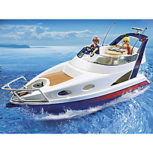 Buy Playmobil Summer Fun Luxury Yacht Online at johnlewis.com