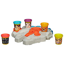 Buy Play-Doh Star Wars Millennium Falcon Online at johnlewis.com