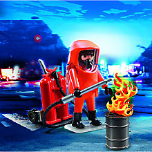 Buy Playmobil City Action Special Forces Firefighter Online at johnlewis.com