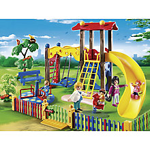 Buy Playmobil City Life Children's Playground Online at johnlewis.com