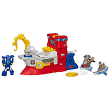 Buy Playskool Heroes Transformers High Tide Rig Online at johnlewis.com