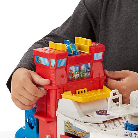 трансформер лодка игрушка видео