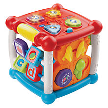Buy VTech Baby Turn & Learn Cube Online at johnlewis.com