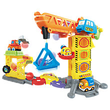 Buy VTech Toot-Toot Drivers, Construction Site Set Online at johnlewis.com