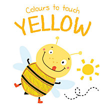 Buy Colours To Touch Yellow Board Book Online at johnlewis.com