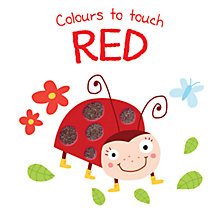 Buy Colours To Touch Red Board Book Online at johnlewis.com