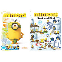 Buy Minions Activity Pack Online at johnlewis.com