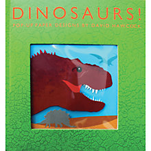 Buy Dinosaurs! Pop-Up Book by David Hawcock Online at johnlewis.com