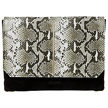 Buy Dune Bentley Suede Clutch Bag Online at johnlewis.com