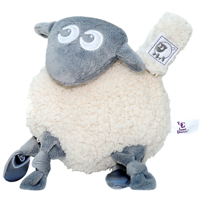Image of Ewan The Dream Sheep Snuggly Baby Comforter, Grey
