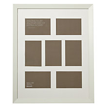 Buy John Lewis 7 Aperture Wall Mounted Picture Frame, H50 x W40cm Online at johnlewis.com