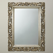 Buy John Lewis Ornate Leaf Wall Mirror, 122 x 91cm, Champagne Online at johnlewis.com