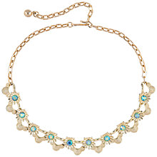 Buy Susan Caplan Vintage Bridal 1950s Coro Aurora Borealis Swarovski Necklace, Gold Online at johnlewis.com
