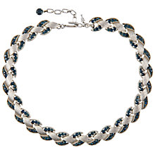 Buy Susan Caplan Vintage Bridal 1960s Trifari Swarovski Crystal Necklace, Silver Online at johnlewis.com