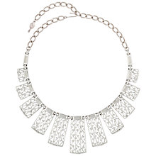 Buy Susan Caplan 1970s Sarah Coventry Silver Plated Necklace, Silver Online at johnlewis.com