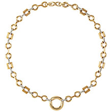 Buy Susan Caplan Vintage 1970s Nina Ricci Gold Plated Swarovski Crystal Necklace, Gold Online at johnlewis.com