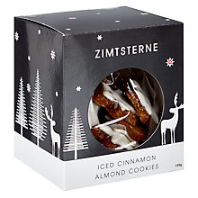 Buy Christmas Market Collection Zimtsterne (Cinnamon Stars), 150g Online at johnlewis.com