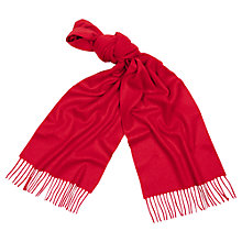 Buy Aquascutum Pure Cashmere Scarf Online at johnlewis.com