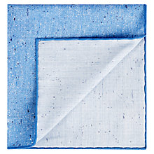 Buy Aquascutum Coledale Slub Silk Pocket Square Online at johnlewis.com