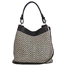 Buy Oasis Aztec Embroidery Hobo Bag, Multi Online at johnlewis.com