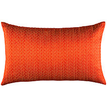Buy Kas Izzy Cushion, Red Online at johnlewis.com