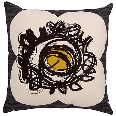 Orla Kiely Textured Flower Spot Cushion