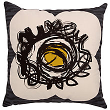Buy Orla Kiely Textured Flower Spot Cushion Online at johnlewis.com
