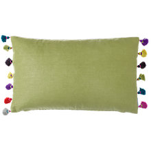 Buy bluebellgray Elie Tasel Cushion Online at johnlewis.com