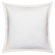 Buy Peter Reed Egyptian Cotton 2 Row Cord Square Oxford Pillowcase, Sand Online at johnlewis.com