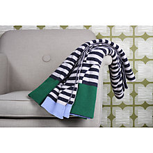 Buy Orla Kiely Striped Jacquard Throw Online at johnlewis.com