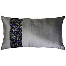 Buy Ted Baker Lexa Jewel Cushion, Pewter Online at johnlewis.com