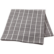 Buy Lexington Check Cotton Bedspread, Grey Online at johnlewis.com