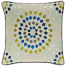 Buy Harlequin Bahia Embroidered Cushion Online at johnlewis.com