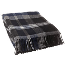 Buy Lexington Check Wool Throw Online at johnlewis.com