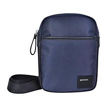 Buy Diesel Fuzzy Flight Bag, Navy Online at johnlewis.com