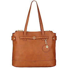Buy Nica Sybil Triple Compartment Grab Bag, Brown Online at johnlewis.com