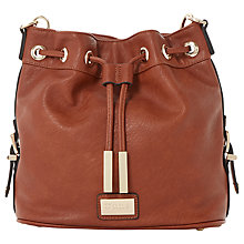 Buy Dune Debecca Duffle Across Body Bag, Brown Online at johnlewis.com