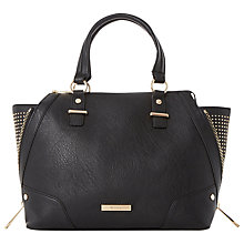 Buy Dune Denzel Studded Side Wing Shoulder Bag, Black Online at johnlewis.com