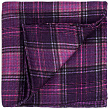 Buy Thomas Pink Dulverton Check Silk Pocket Square Online at johnlewis.com