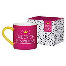 Buy Happy Jackson Queen of Awesome Mug Online at johnlewis.com