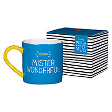 Buy Happy Jackson Mr Wonderful Mug Online at johnlewis.com