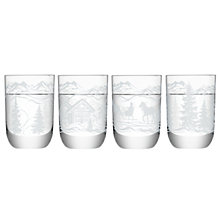 "Buy LSA International ""Tirol"" Vodka Shot Glasses, Assorted Designs, Set of 4 Online at johnlewis.com"