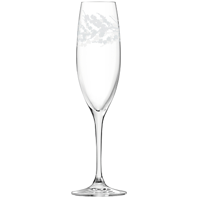 LSA International Garland Champagne Flute Assorted, Set of 4